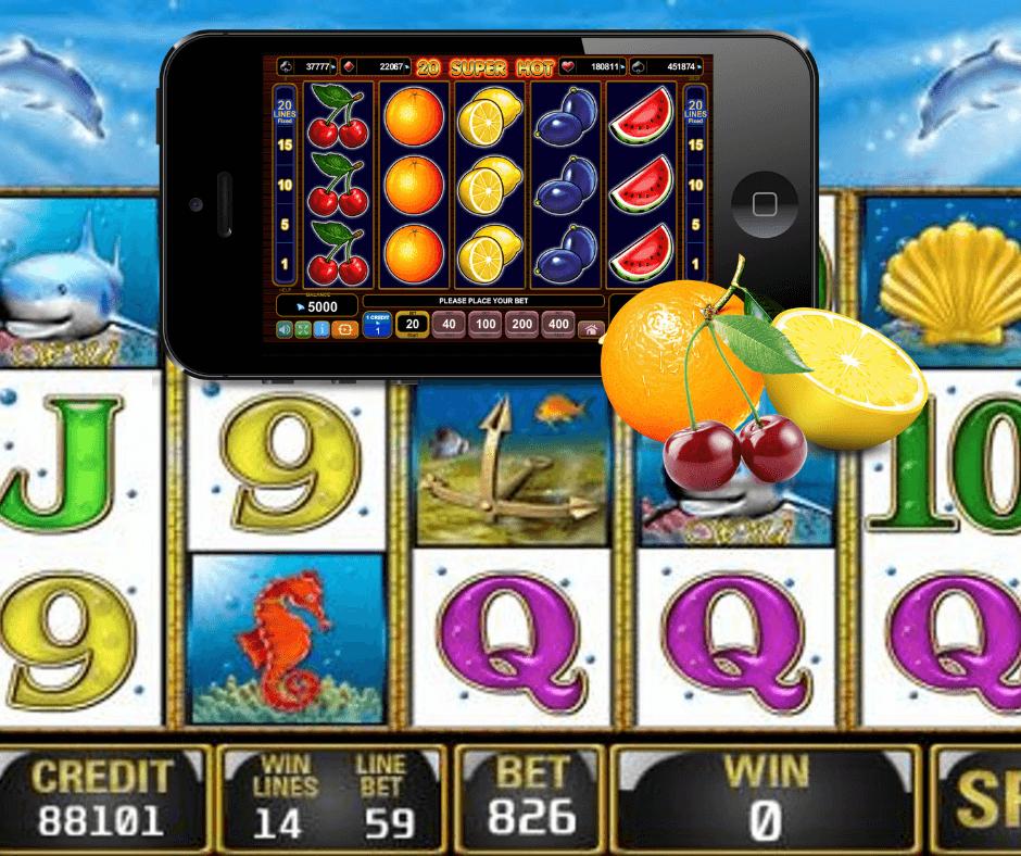 Play mobile slots